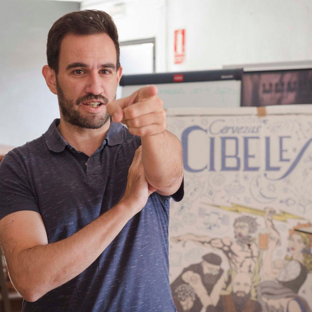 Vicente Álvarez de Haro Cervezas La Cibeles