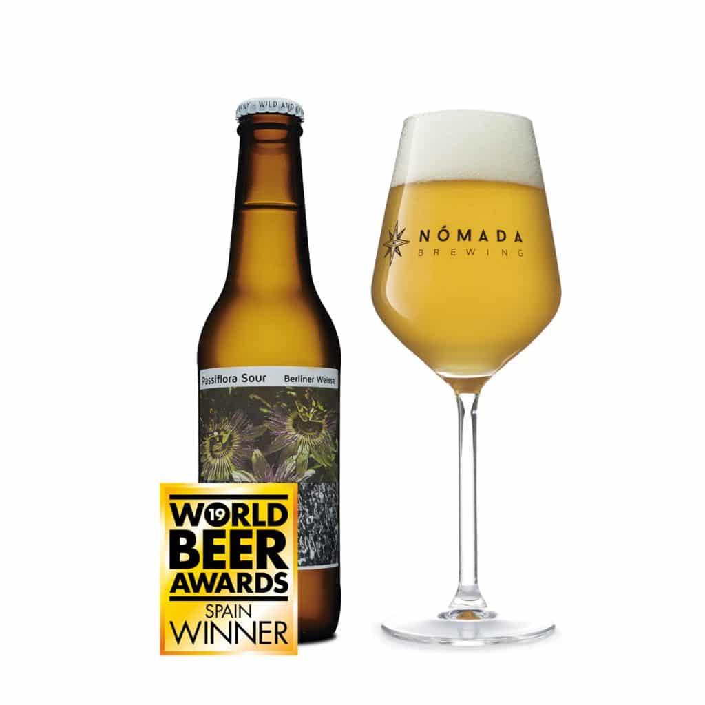 Cerveza Nomada Passiflora